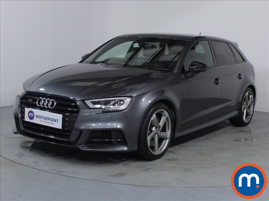 Audi A3 S3 Black Edition - Stock Number 1072176 Passenger side front corner
