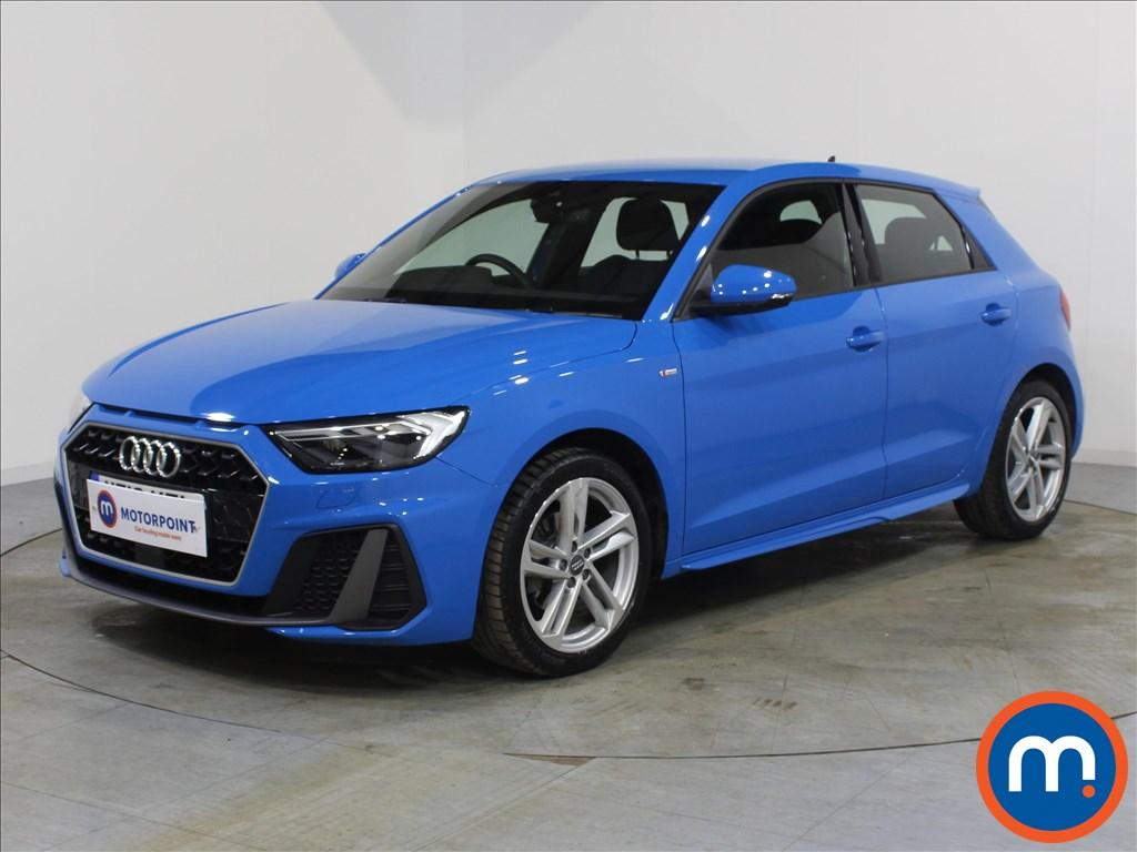 Audi A1 S Line - Stock Number 1071365 Passenger side front corner