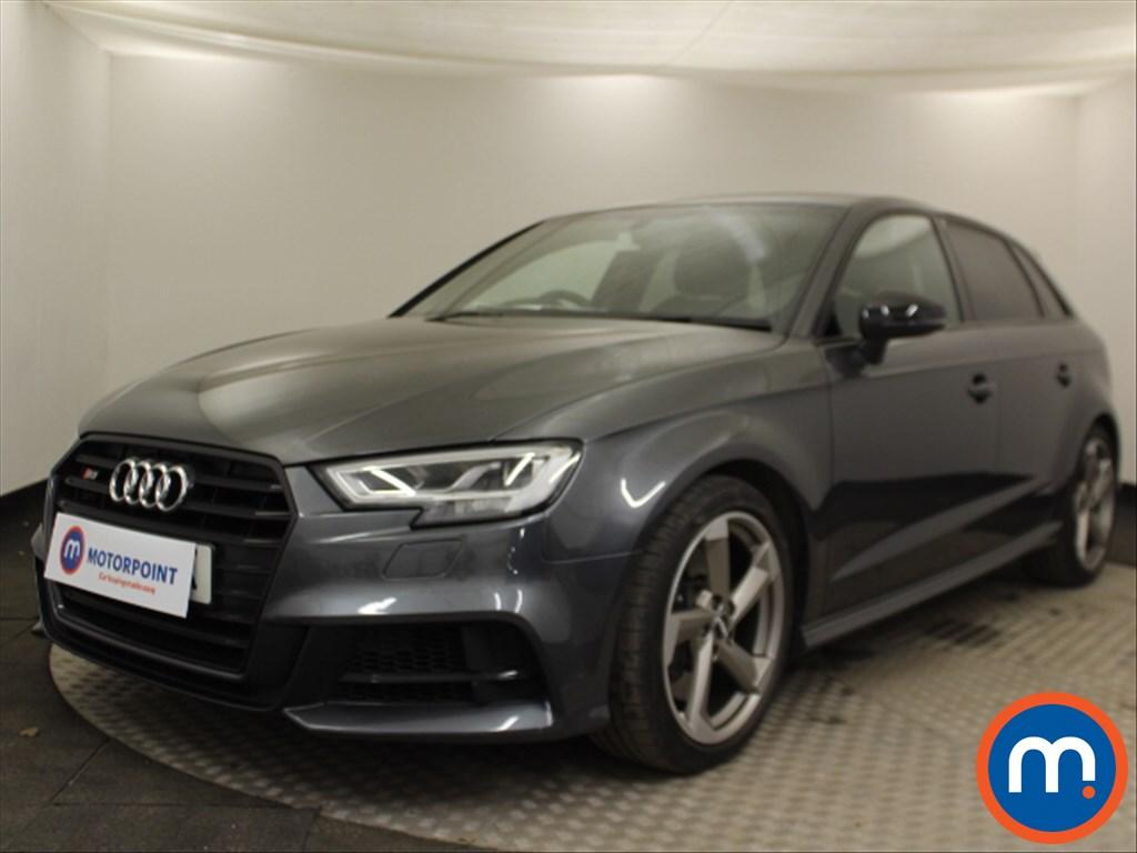 Audi A3 S3 Black Edition - Stock Number 1072882 Passenger side front corner