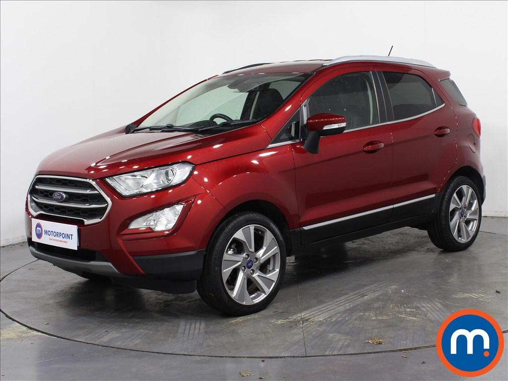 Ford Ecosport Titanium - Stock Number 1072277 Passenger side front corner