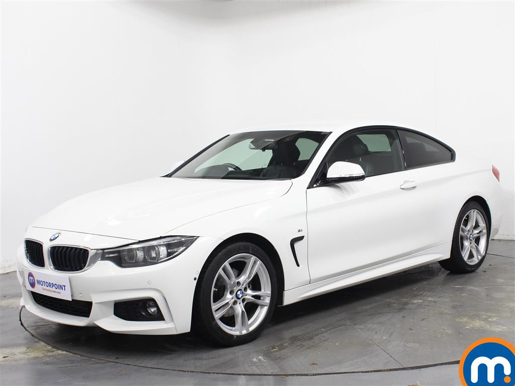 BMW 4 Series M Sport - Stock Number 1067732 Passenger side front corner
