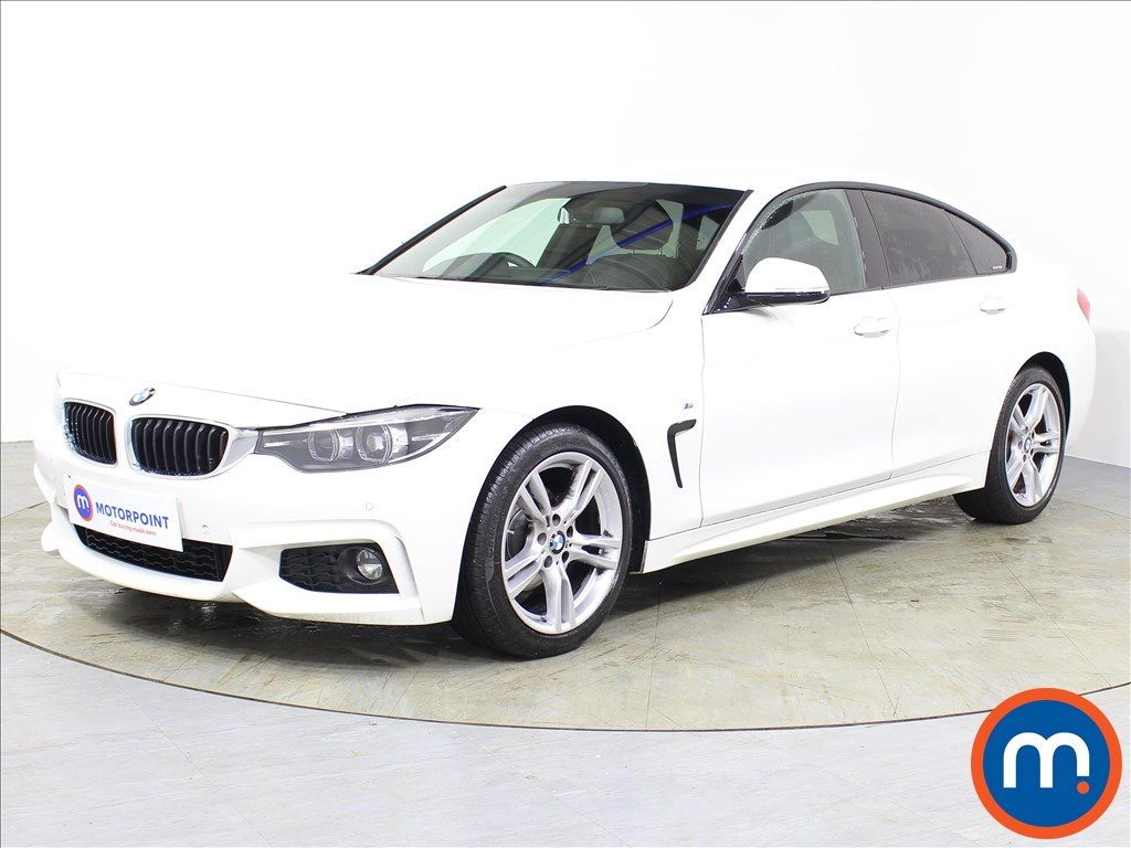 BMW 4 Series M Sport - Stock Number 1074943 Passenger side front corner