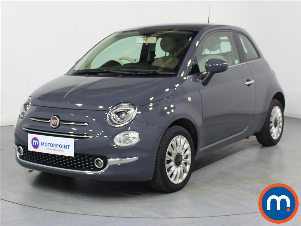 Fiat 500 Lounge - Stock Number 1073382 Passenger side front corner