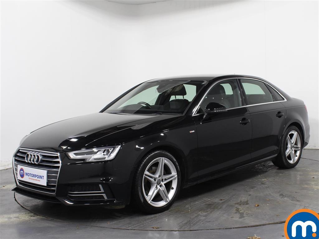 Audi A4 S Line - Stock Number 1074493 Passenger side front corner