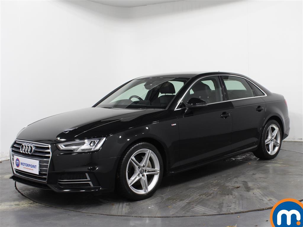 Audi A4 S Line - Stock Number 1071355 Passenger side front corner