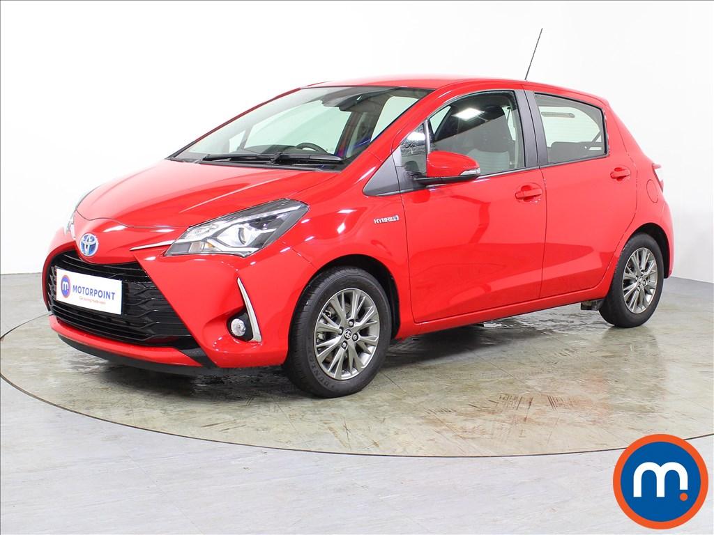 Toyota Yaris Icon - Stock Number 1067588 Passenger side front corner