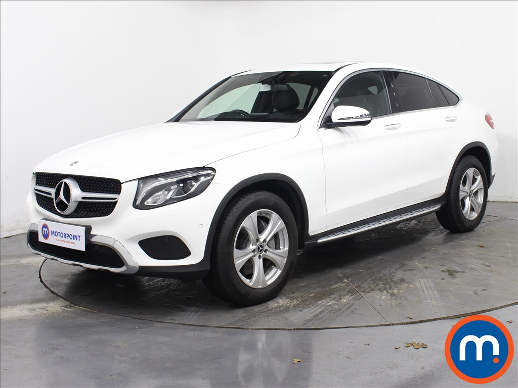 Mercedes-Benz Glc Coupe Sport - Stock Number 1072848 Passenger side front corner