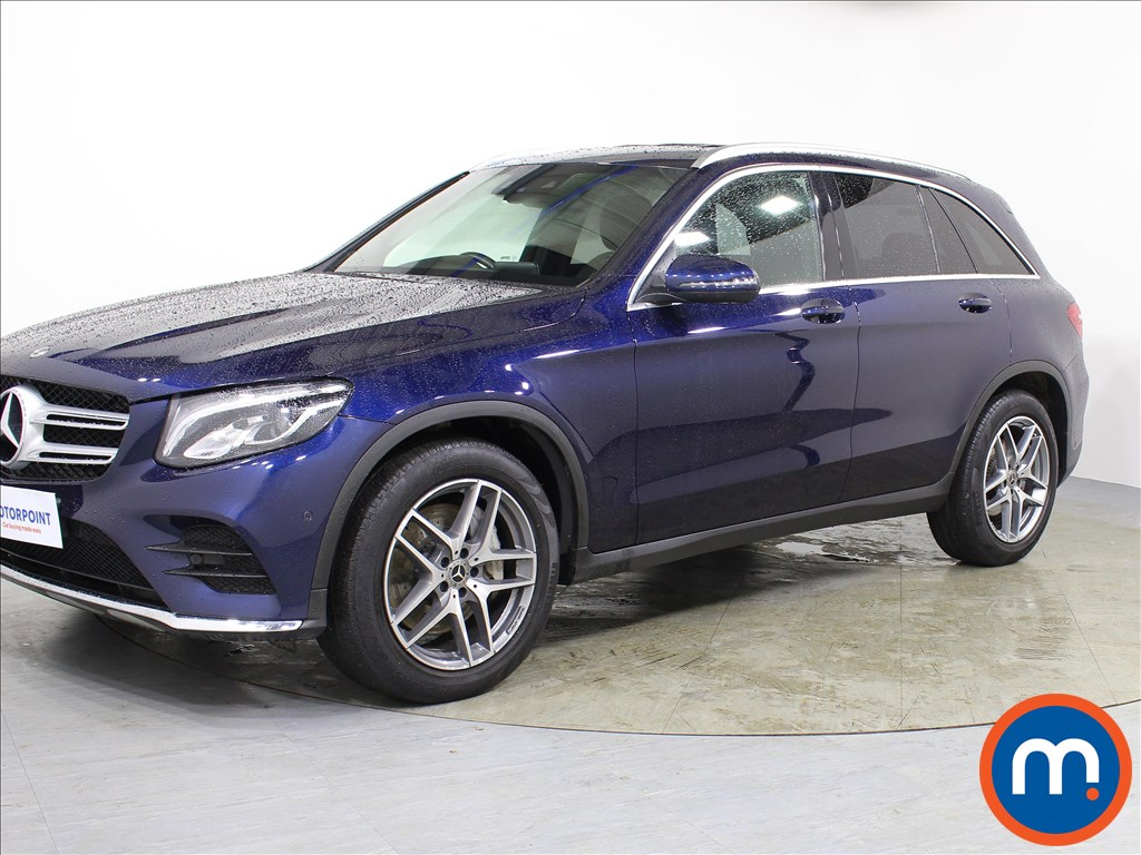 Mercedes-Benz GLC AMG Line - Stock Number 1071591 Passenger side front corner