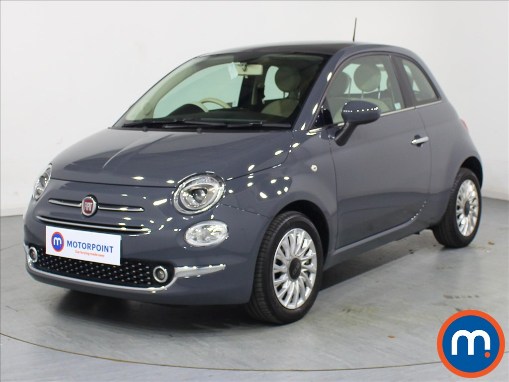 Fiat 500 Lounge - Stock Number 1073781 Passenger side front corner