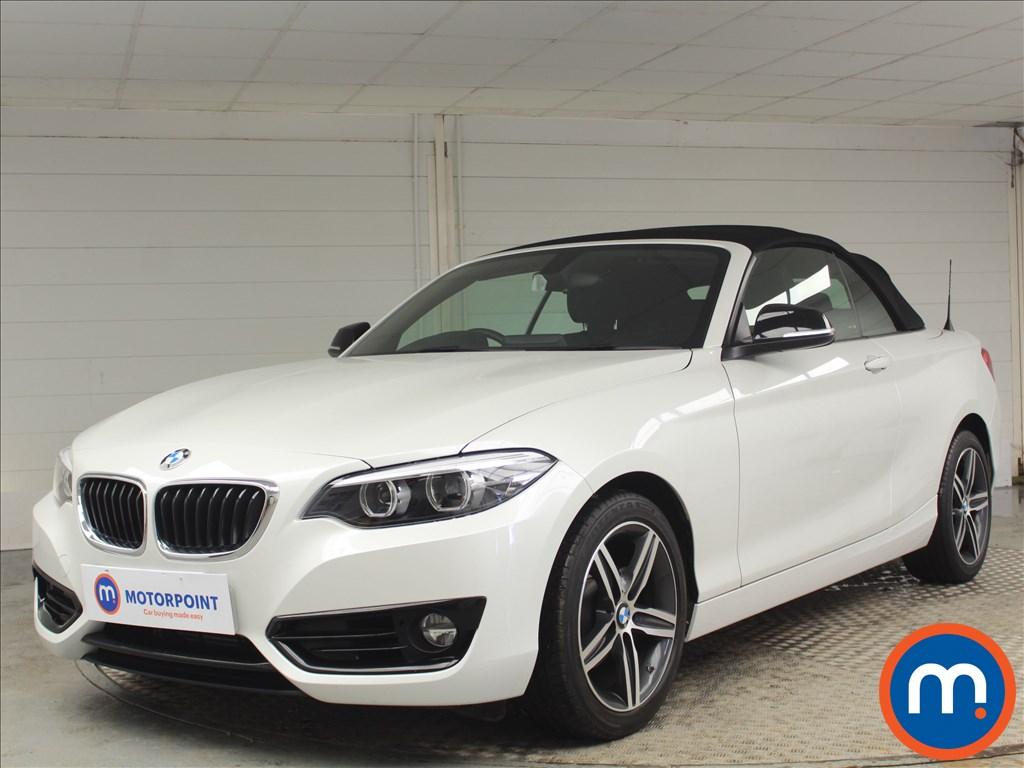 BMW 2 Series Sport - Stock Number 1074731 Passenger side front corner