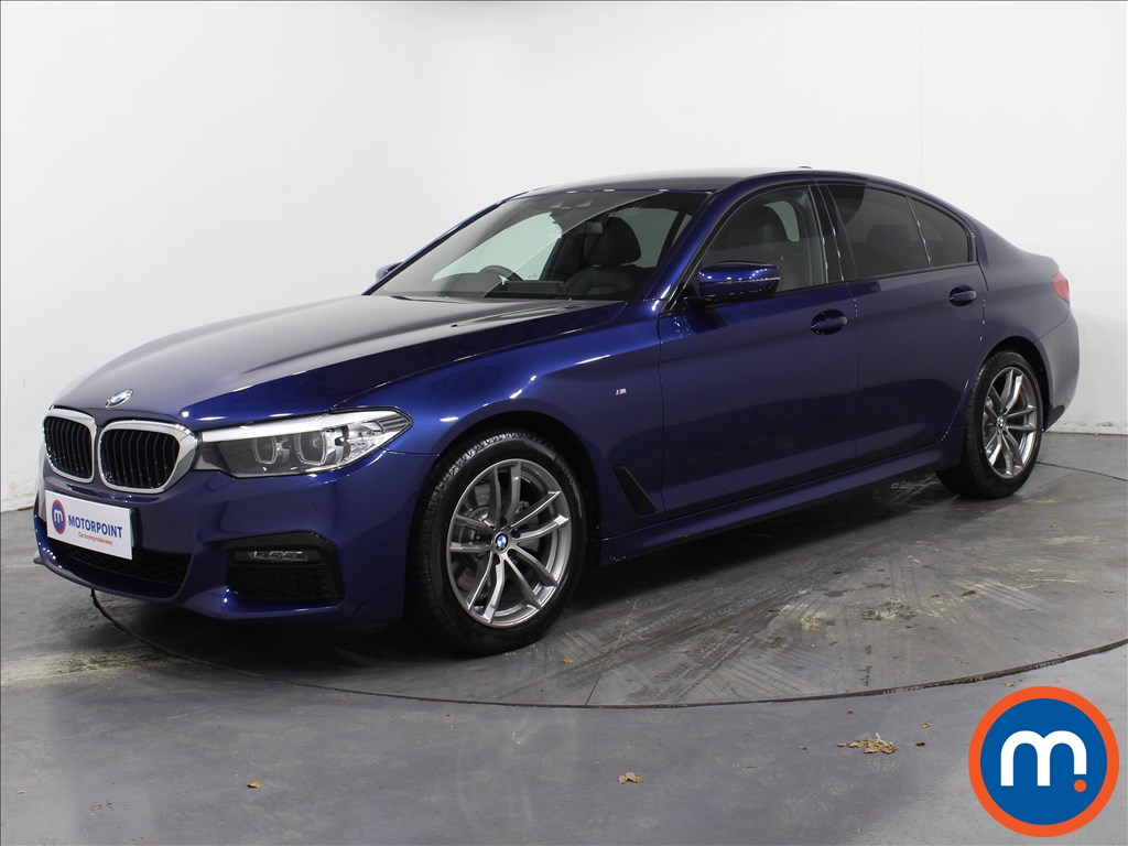BMW 5 Series M Sport - Stock Number 1070378 Passenger side front corner