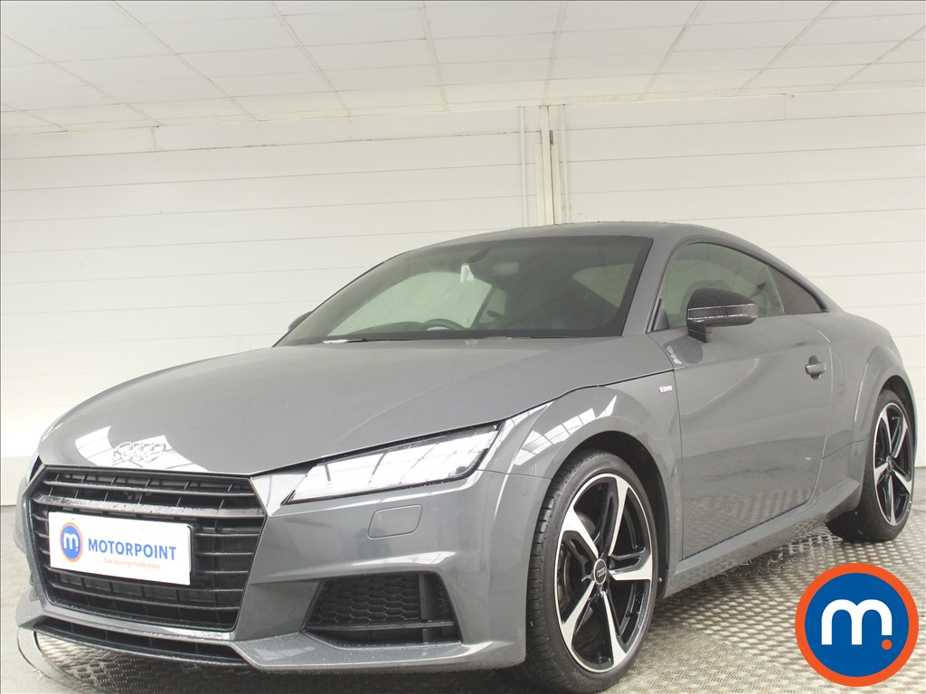 Audi TT Black Edition - Stock Number 1072887 Passenger side front corner