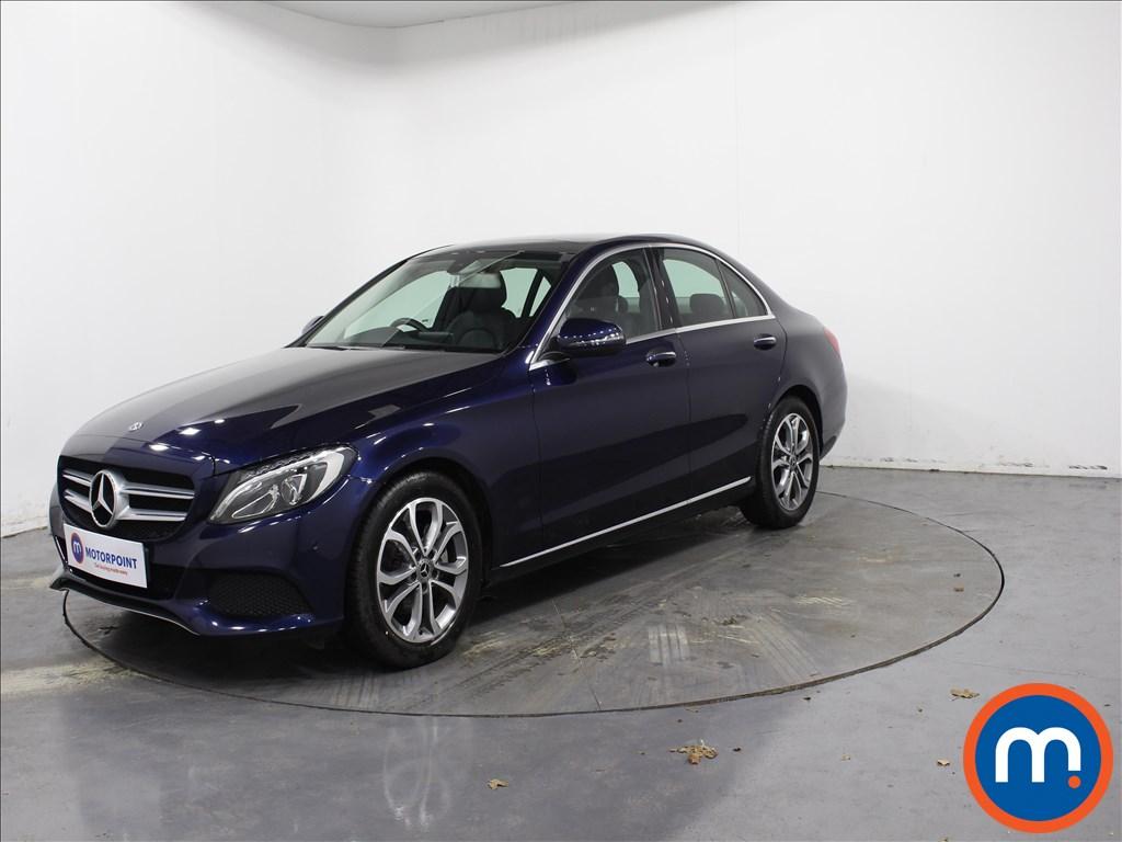 Mercedes-Benz C Class Sport - Stock Number 1072167 Passenger side front corner