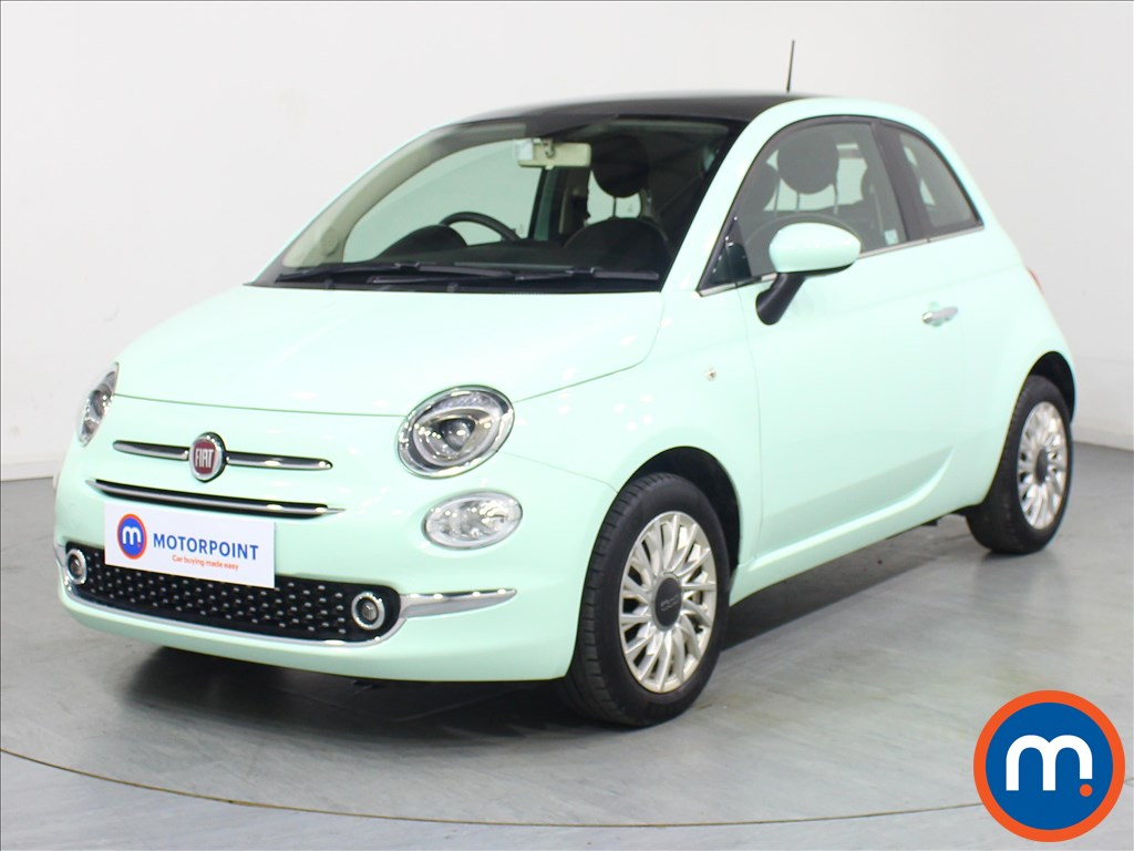 Fiat 500 Lounge - Stock Number 1075413 Passenger side front corner