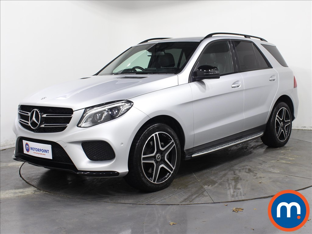 Mercedes-Benz GLE Night Edition - Stock Number 1075566 Passenger side front corner