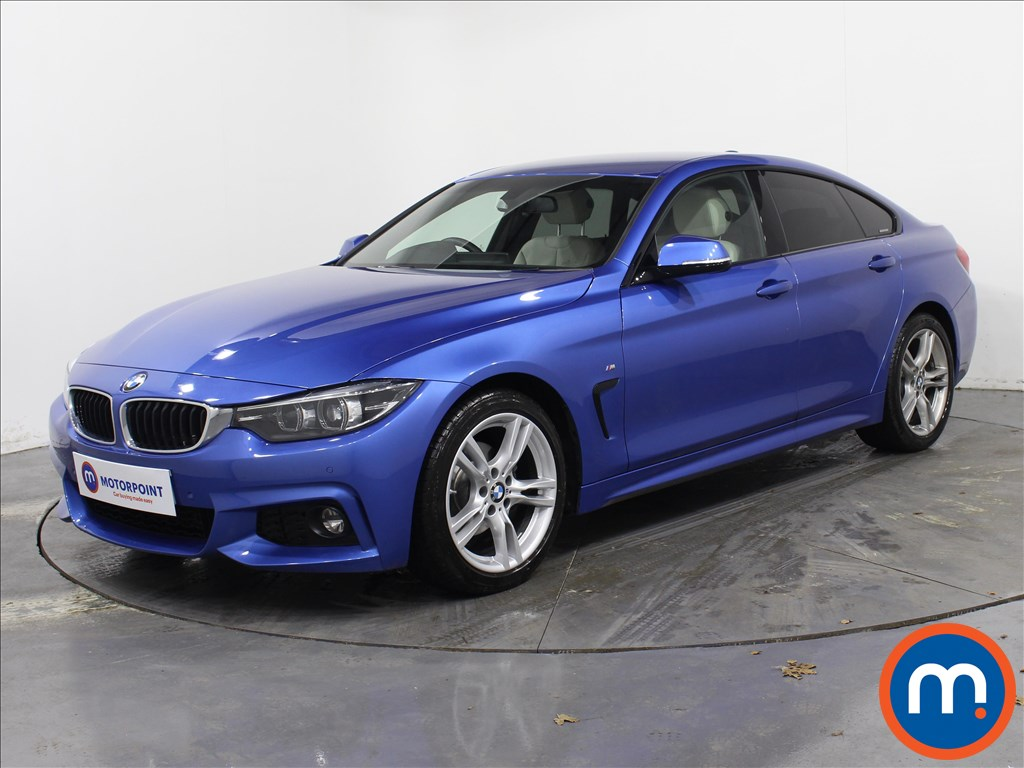 BMW 4 Series M Sport - Stock Number 1072299 Passenger side front corner