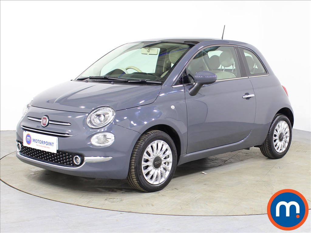 Fiat 500 Lounge - Stock Number 1074531 Passenger side front corner