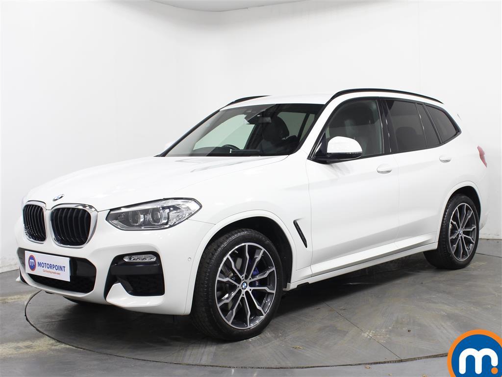 BMW X3 M Sport - Stock Number 1073622 Passenger side front corner