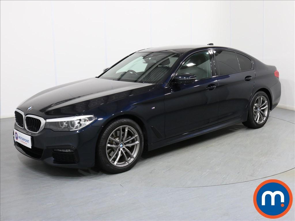 BMW 5 Series M Sport - Stock Number 1075442 Passenger side front corner
