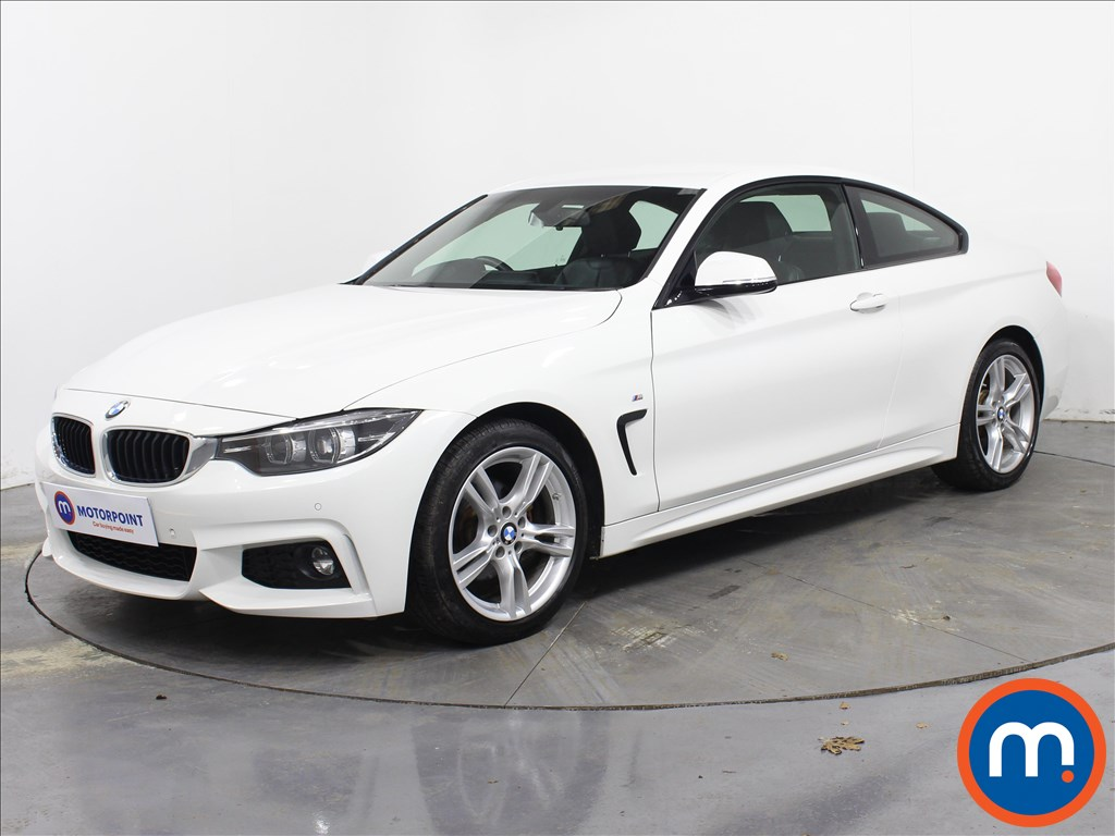 BMW 4 Series M Sport - Stock Number 1071649 Passenger side front corner