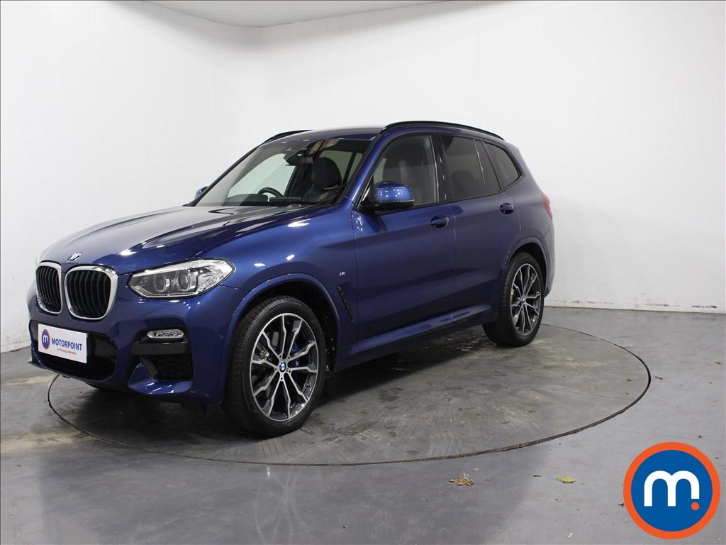 BMW X3 M Sport - Stock Number 1073620 Passenger side front corner