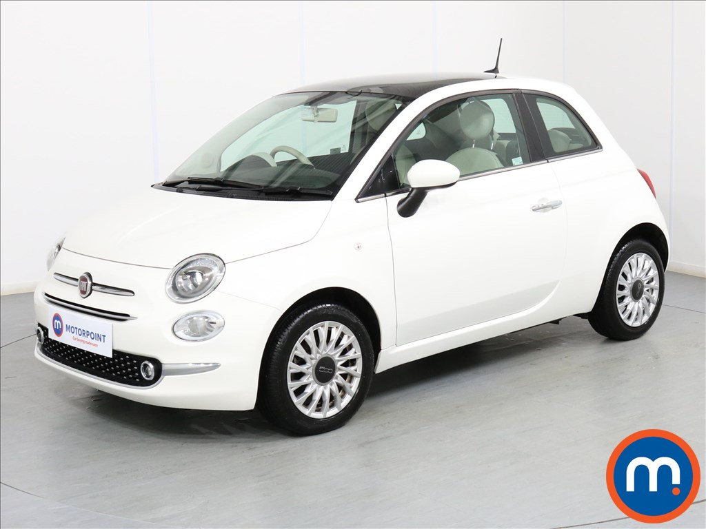 Fiat 500 Lounge - Stock Number 1066517 Passenger side front corner