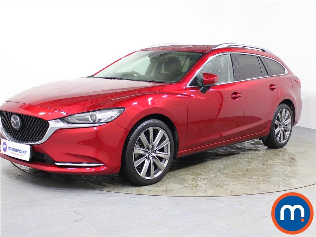 Mazda 6 Sport Nav-Plus - Stock Number 1074649 Passenger side front corner