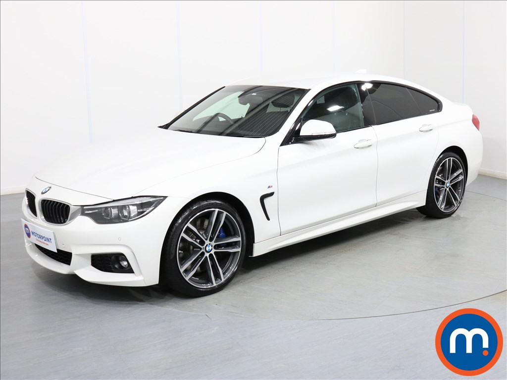 BMW 4 Series M Sport - Stock Number 1074037 Passenger side front corner