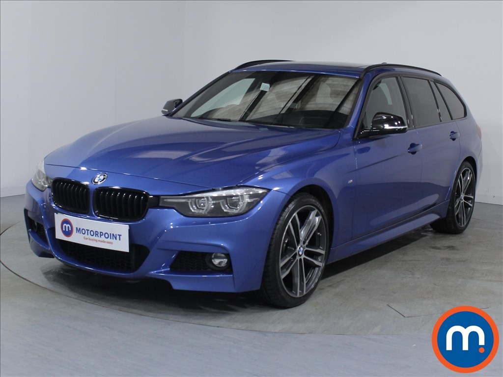 BMW 3 Series M Sport Shadow Edition - Stock Number 1072963 Passenger side front corner