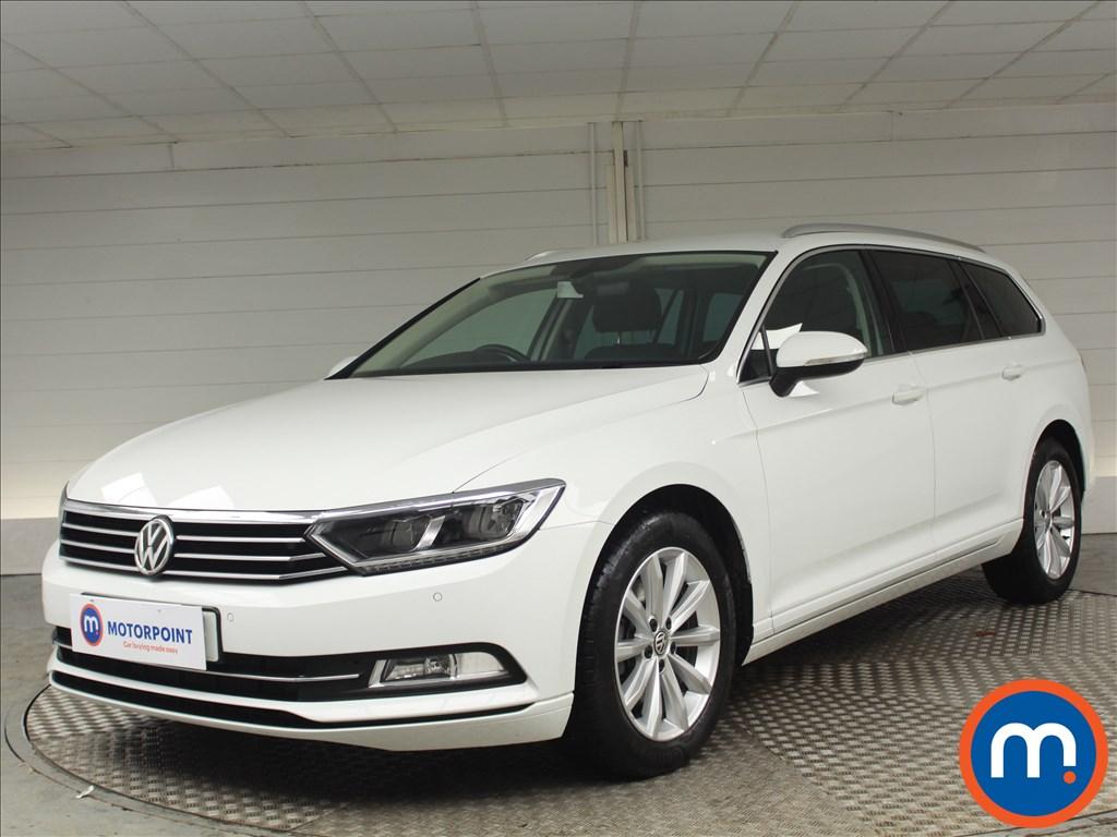 Volkswagen Passat SE Business - Stock Number 1069998 Passenger side front corner