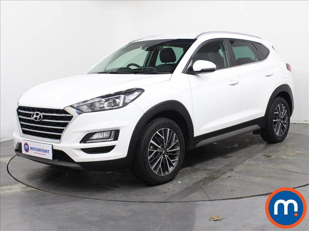 Hyundai Tucson Premium - Stock Number 1073643 Passenger side front corner