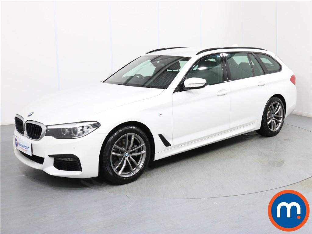 BMW 5 Series M Sport - Stock Number 1075640 Passenger side front corner