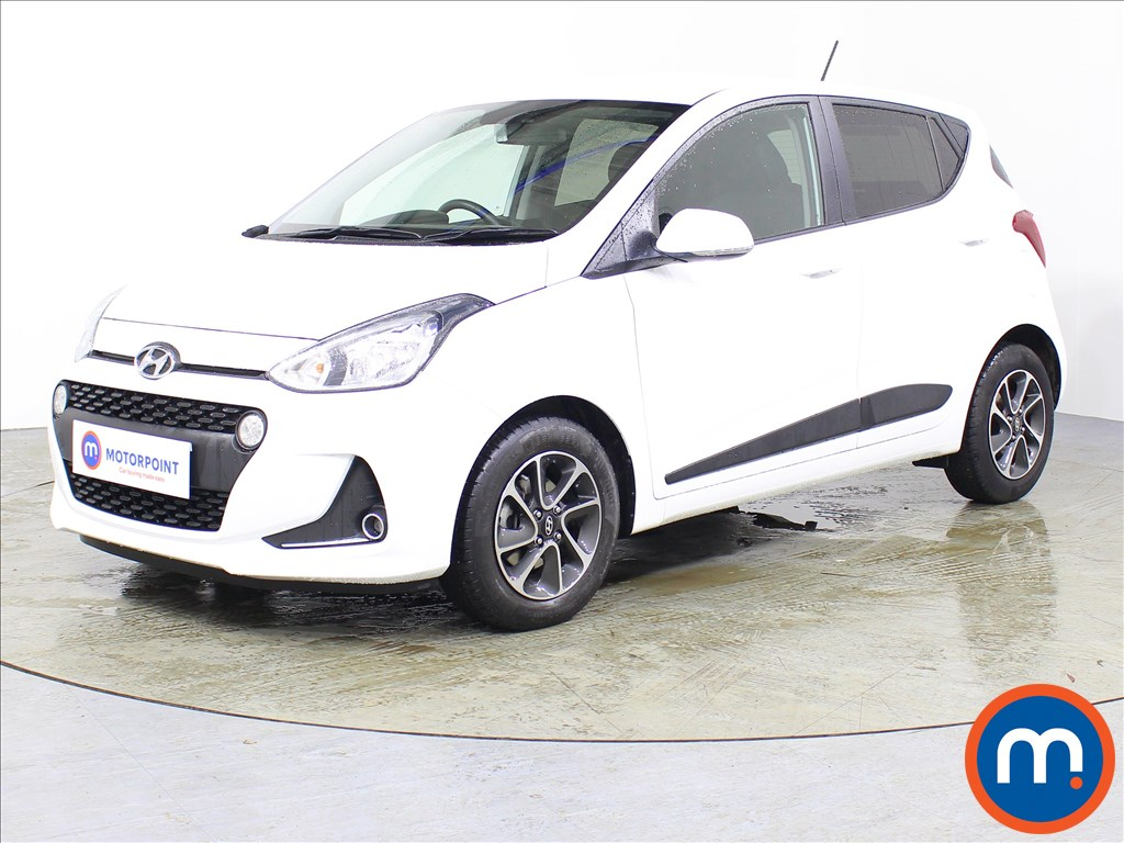 Hyundai I10 Premium - Stock Number 1074002 Passenger side front corner