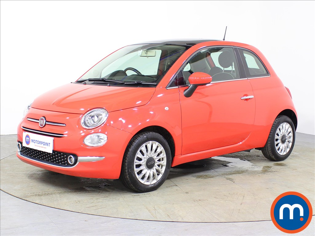 Fiat 500 Lounge - Stock Number 1075415 Passenger side front corner