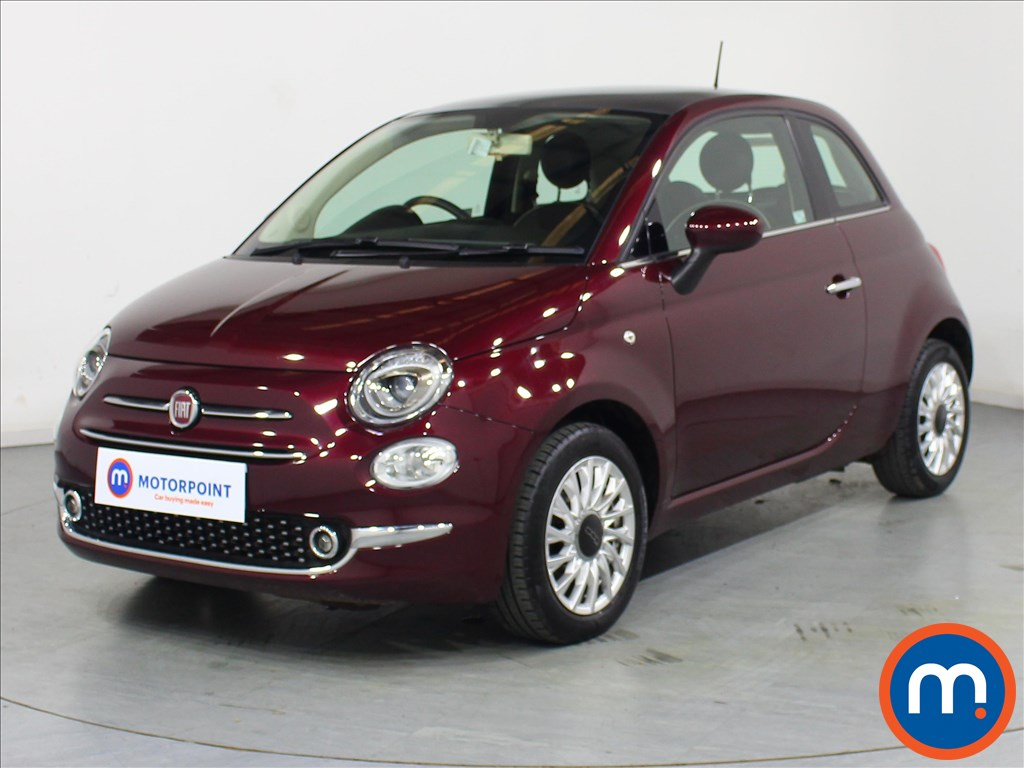 Fiat 500 Lounge - Stock Number 1073840 Passenger side front corner
