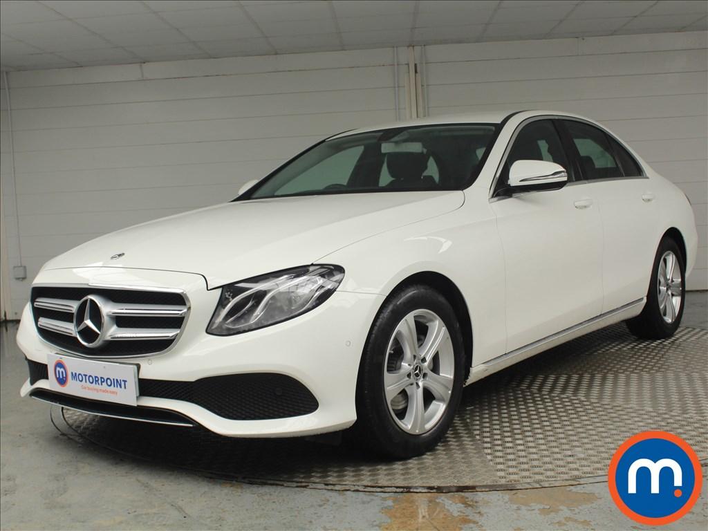 Mercedes-Benz E Class SE - Stock Number 1075572 Passenger side front corner
