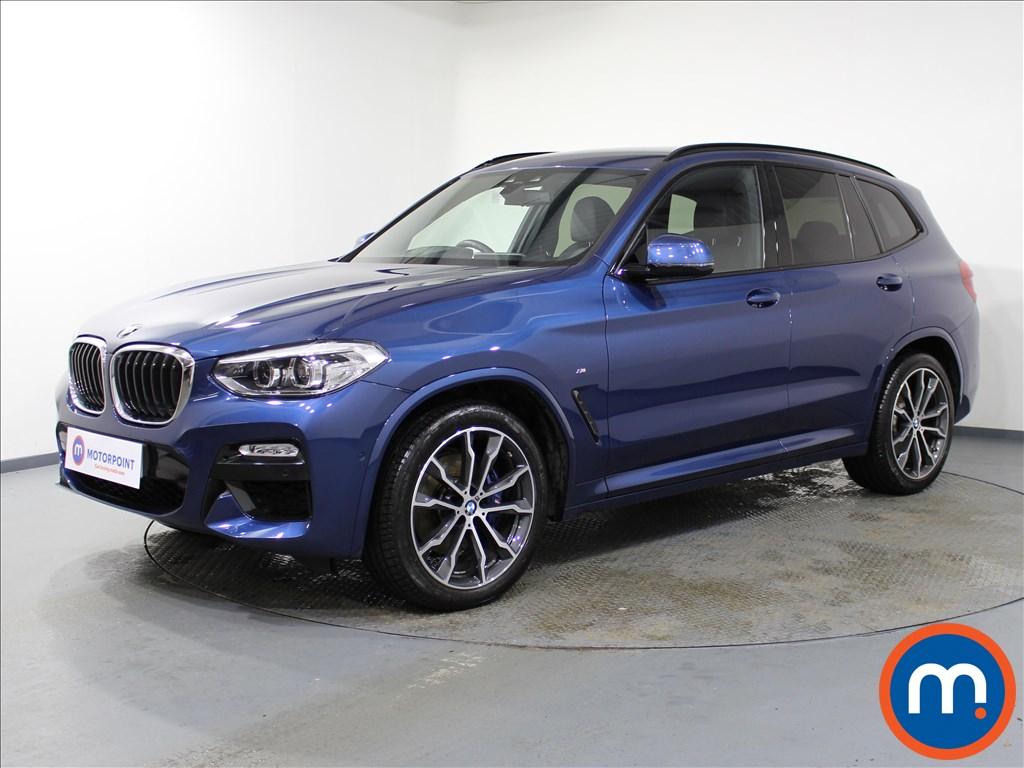 BMW X3 M Sport - Stock Number 1074764 Passenger side front corner