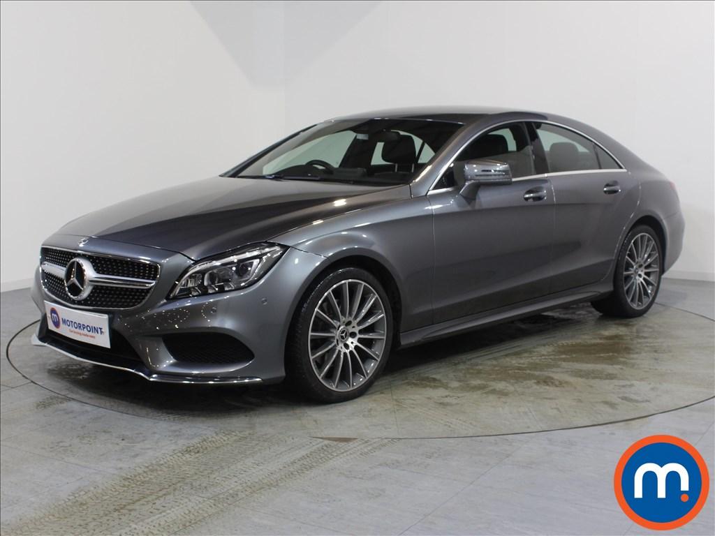 Mercedes-Benz CLS AMG Line - Stock Number 1075373 Passenger side front corner