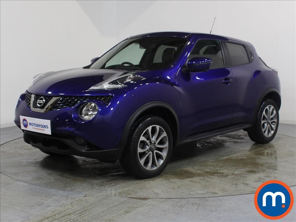 Nissan Juke Tekna - Stock Number 1071999 Passenger side front corner