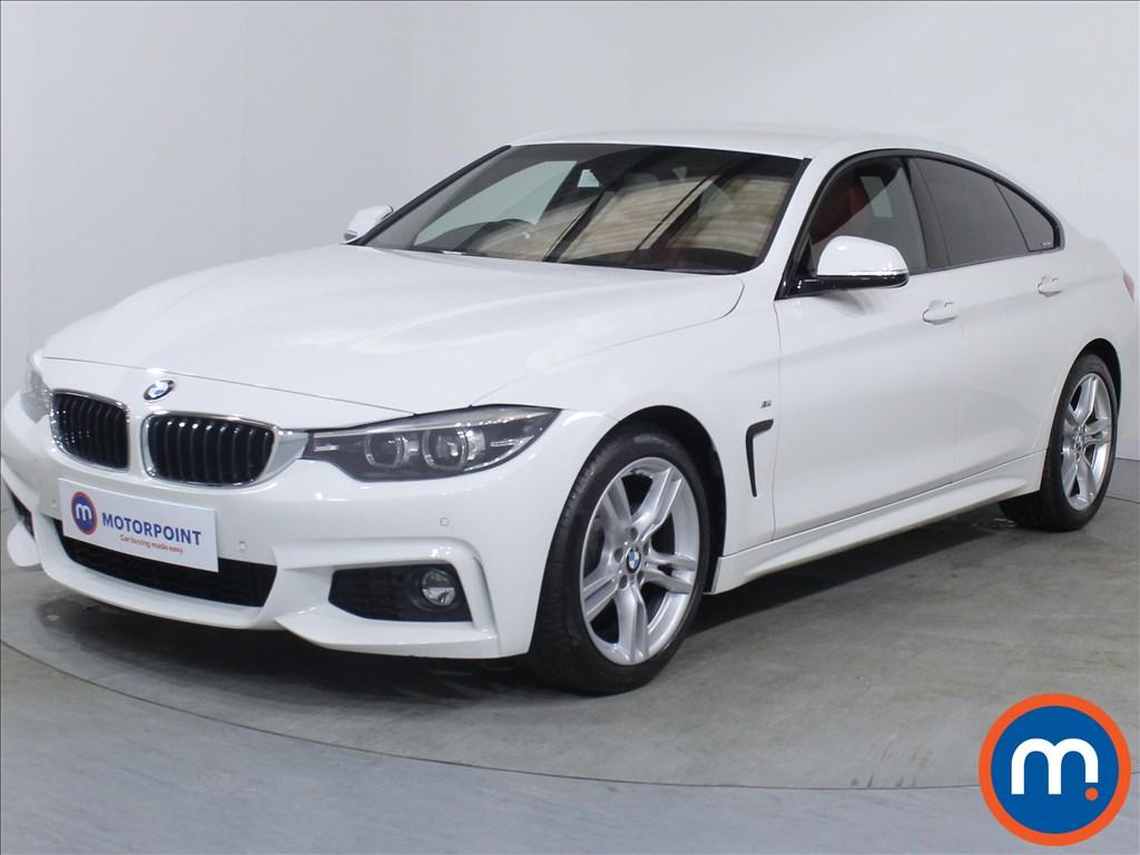 BMW 4 Series M Sport - Stock Number 1074400 Passenger side front corner