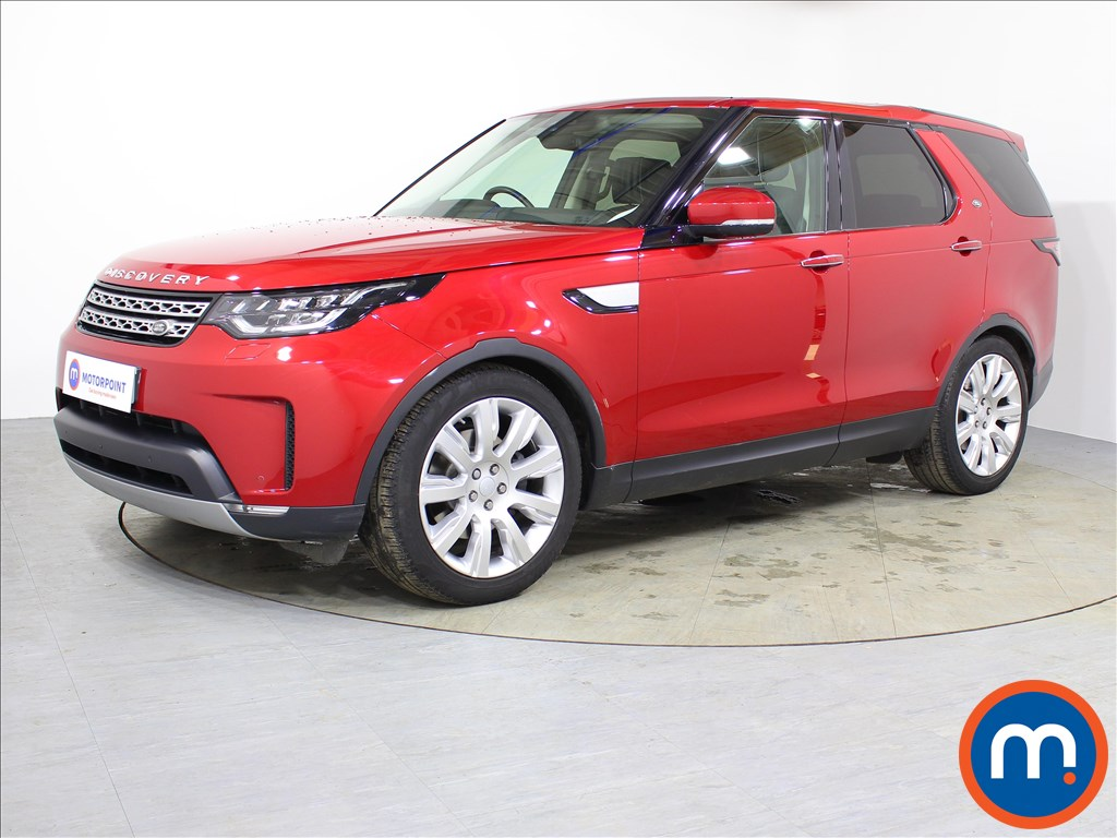Land Rover Discovery HSE Luxury - Stock Number 1072976 Passenger side front corner