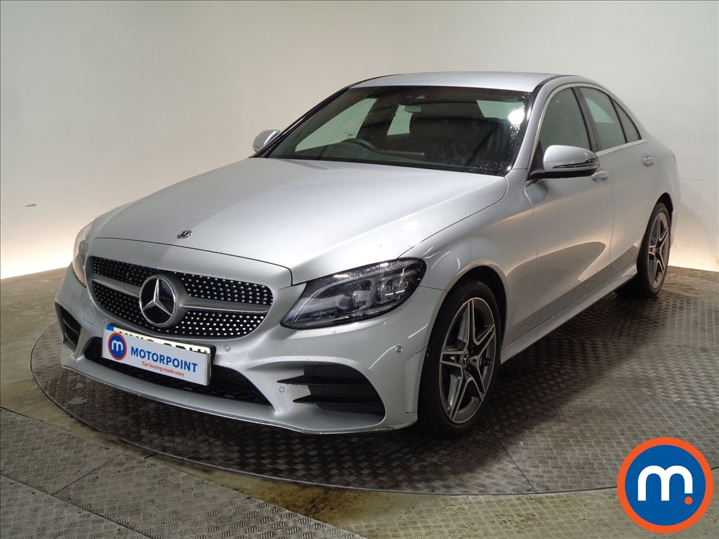 Mercedes-Benz C Class AMG Line - Stock Number 1071386 Passenger side front corner