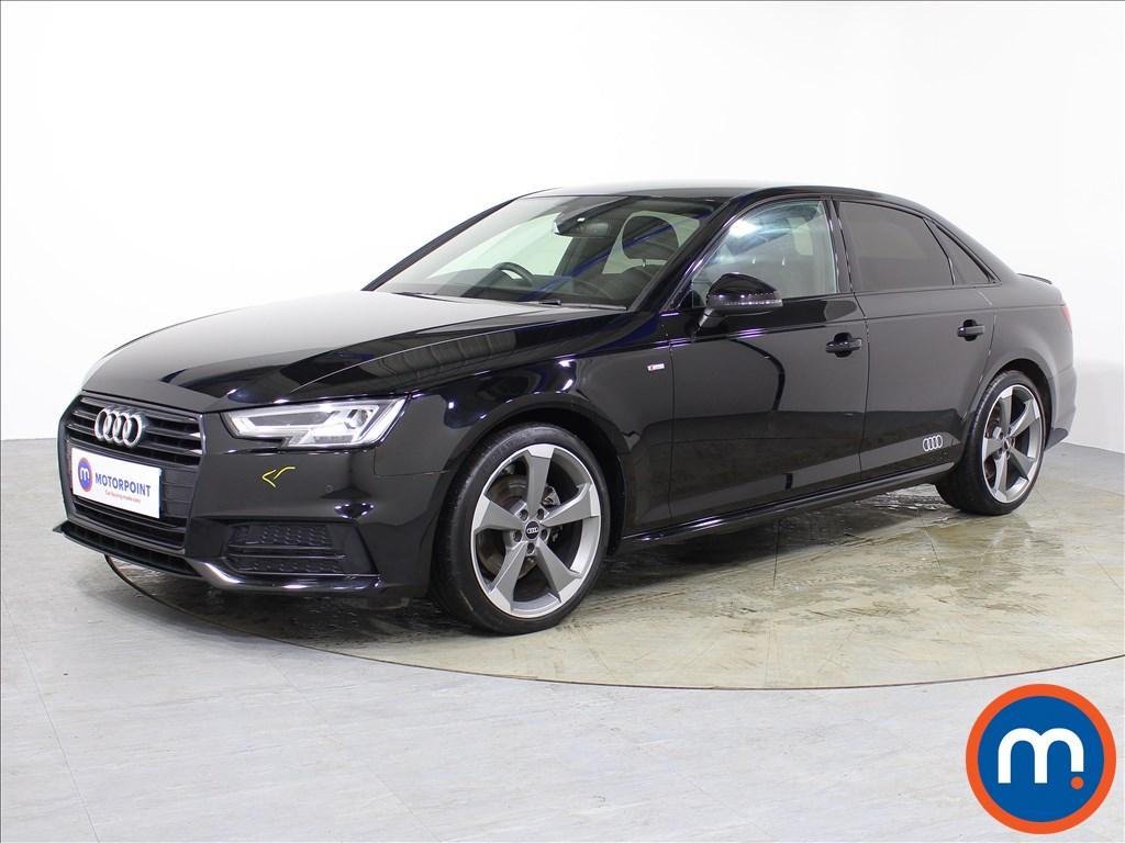 Audi A4 Black Edition - Stock Number 1074928 Passenger side front corner