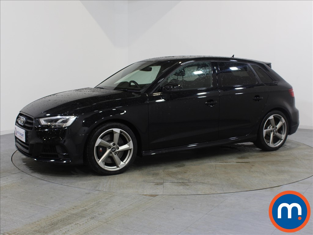 Audi A3 S3 Black Edition - Stock Number 1072166 Passenger side front corner
