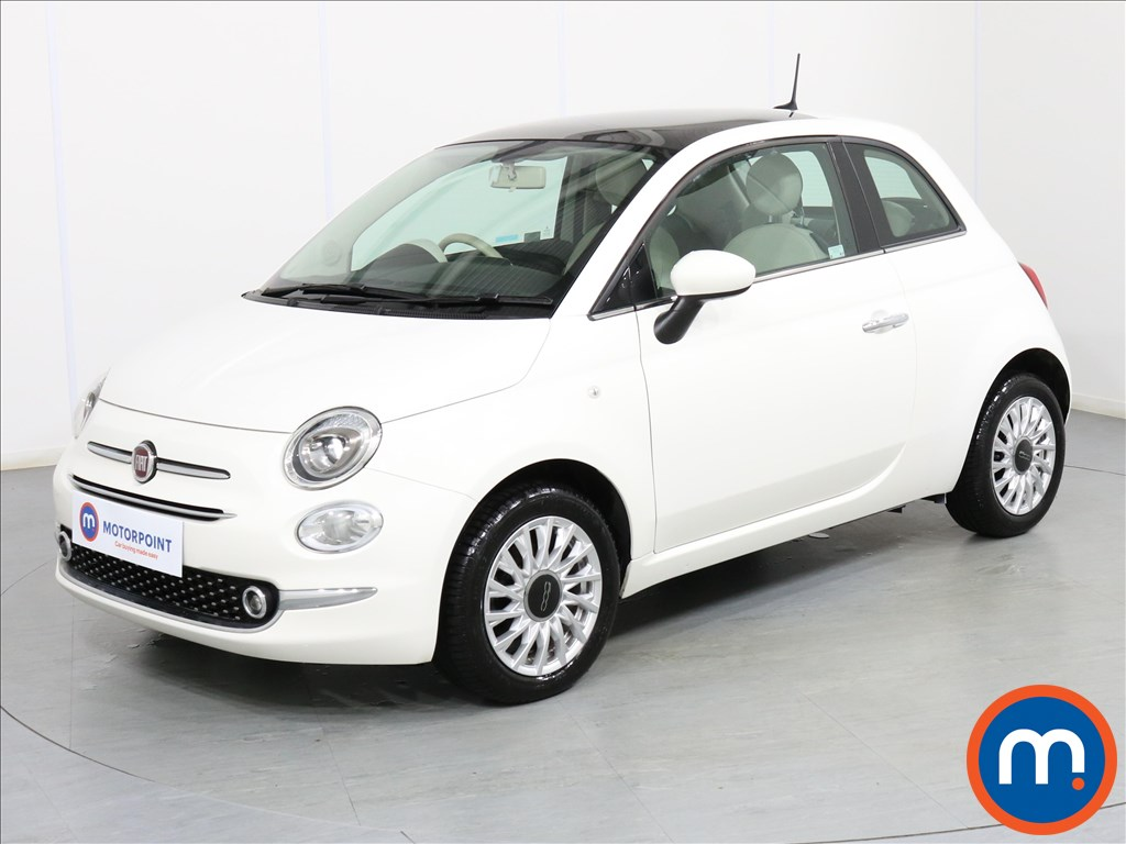Fiat 500 Lounge - Stock Number 1076430 Passenger side front corner