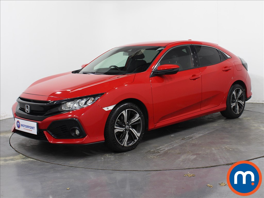 Honda Civic SR - Stock Number 1054912 Passenger side front corner