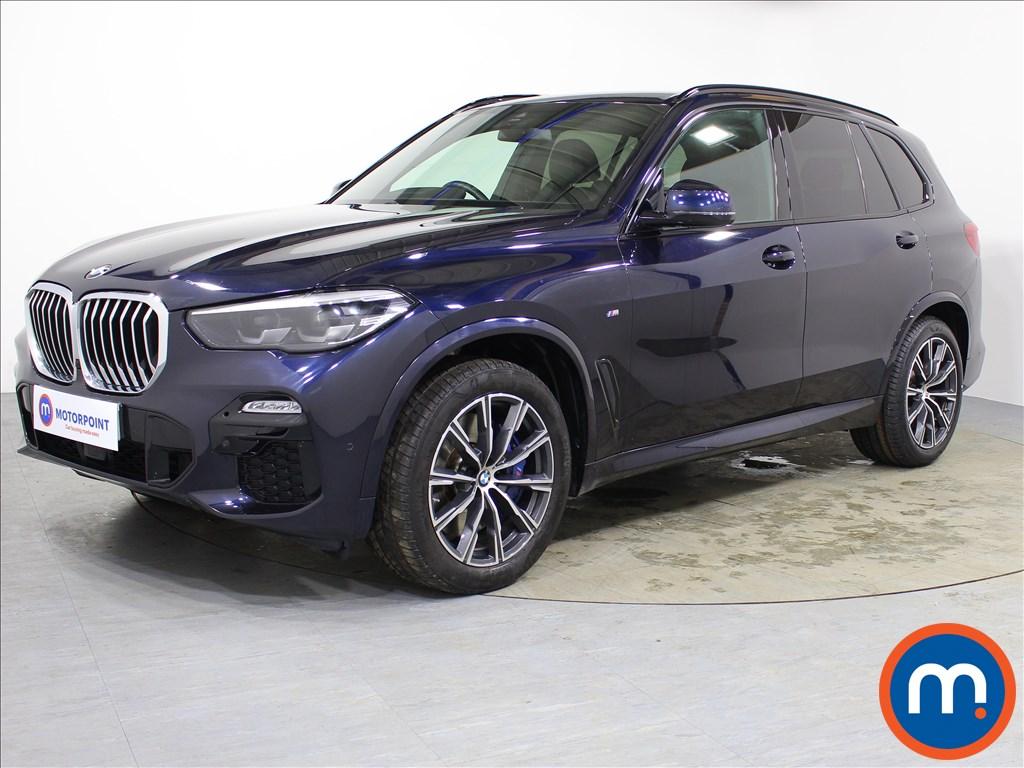 BMW X5 M Sport - Stock Number 1073618 Passenger side front corner