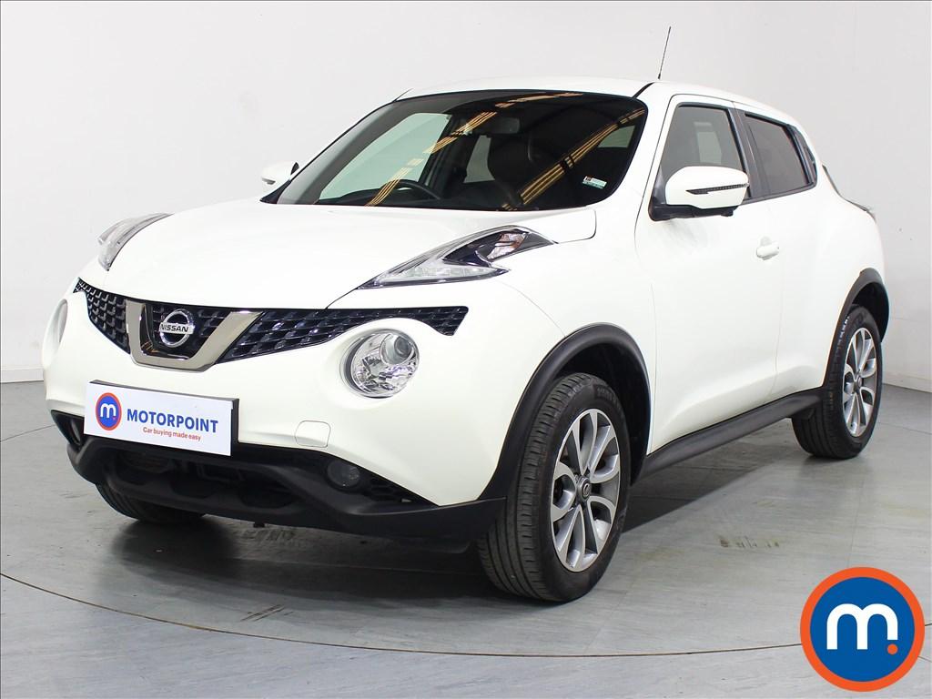 Nissan Juke Tekna - Stock Number 1073822 Passenger side front corner
