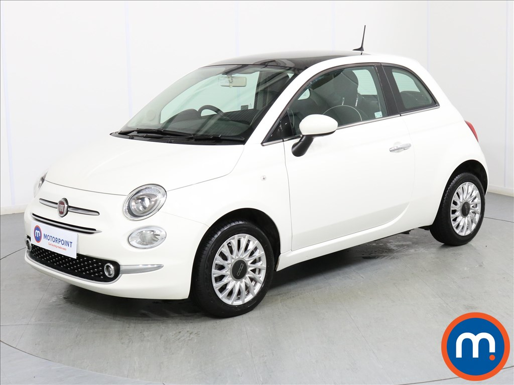 Fiat 500 Lounge - Stock Number 1076425 Passenger side front corner