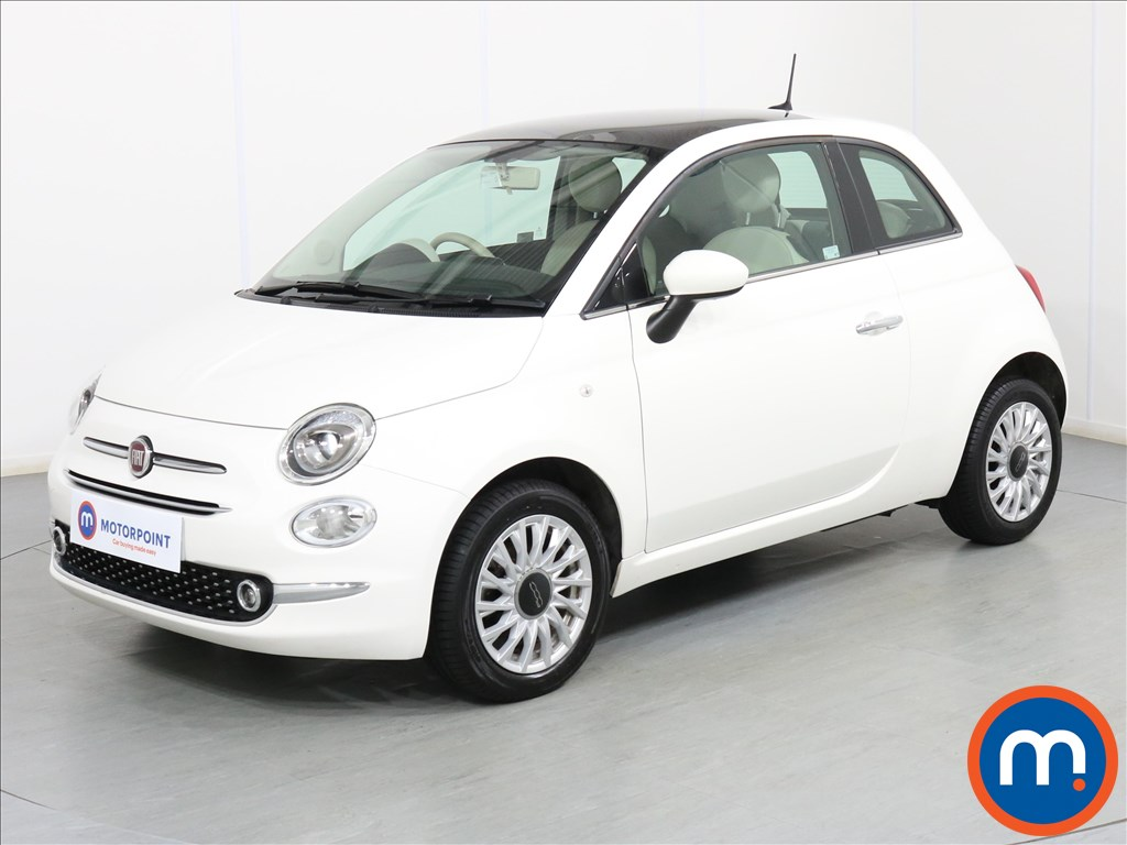 Fiat 500 Lounge - Stock Number 1076429 Passenger side front corner